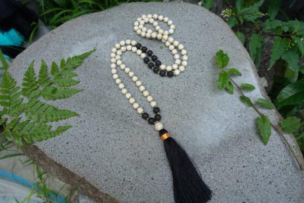 Collier Mala Yin Yang 5