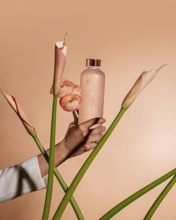 Mismatch Bloom Bouteille en verre Fleur