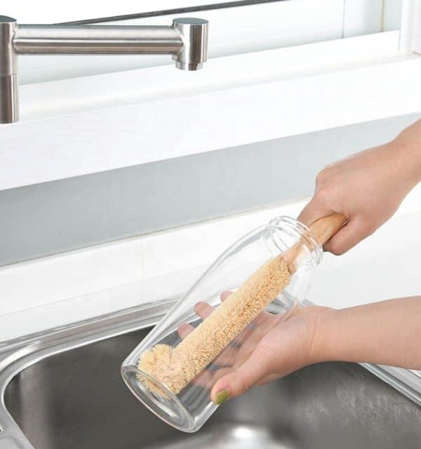 Brosse nettoyage gourde évier