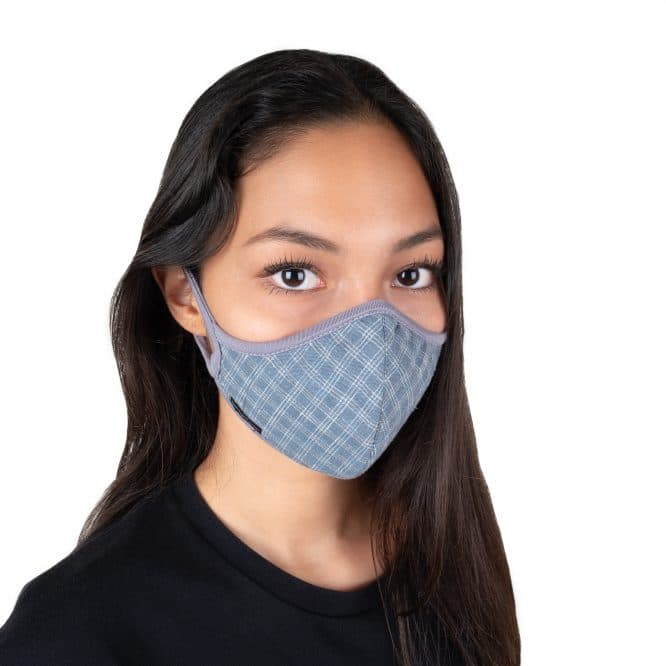 Masque anti-pollution réutilisable Hemp woman