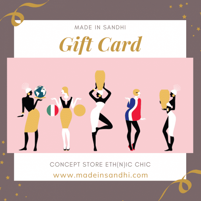 Gift Card Made in Sandhi