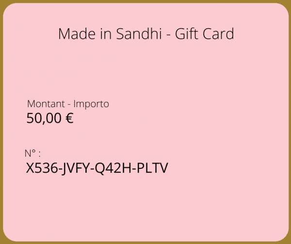 Made in Sandhi - Gift Card