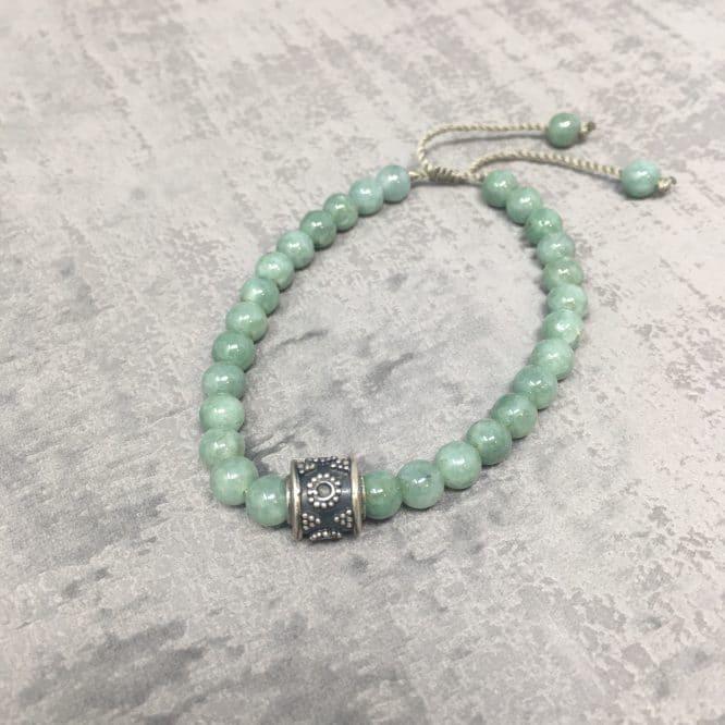 Bracelet Aventurine Verte face