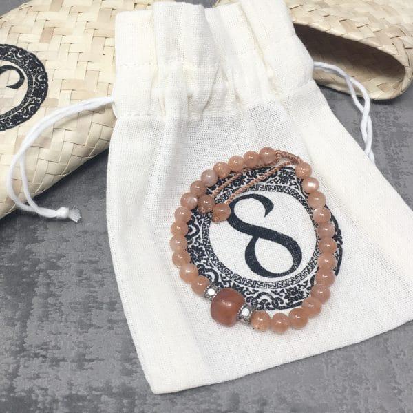 Bracelet Cornaline packaging